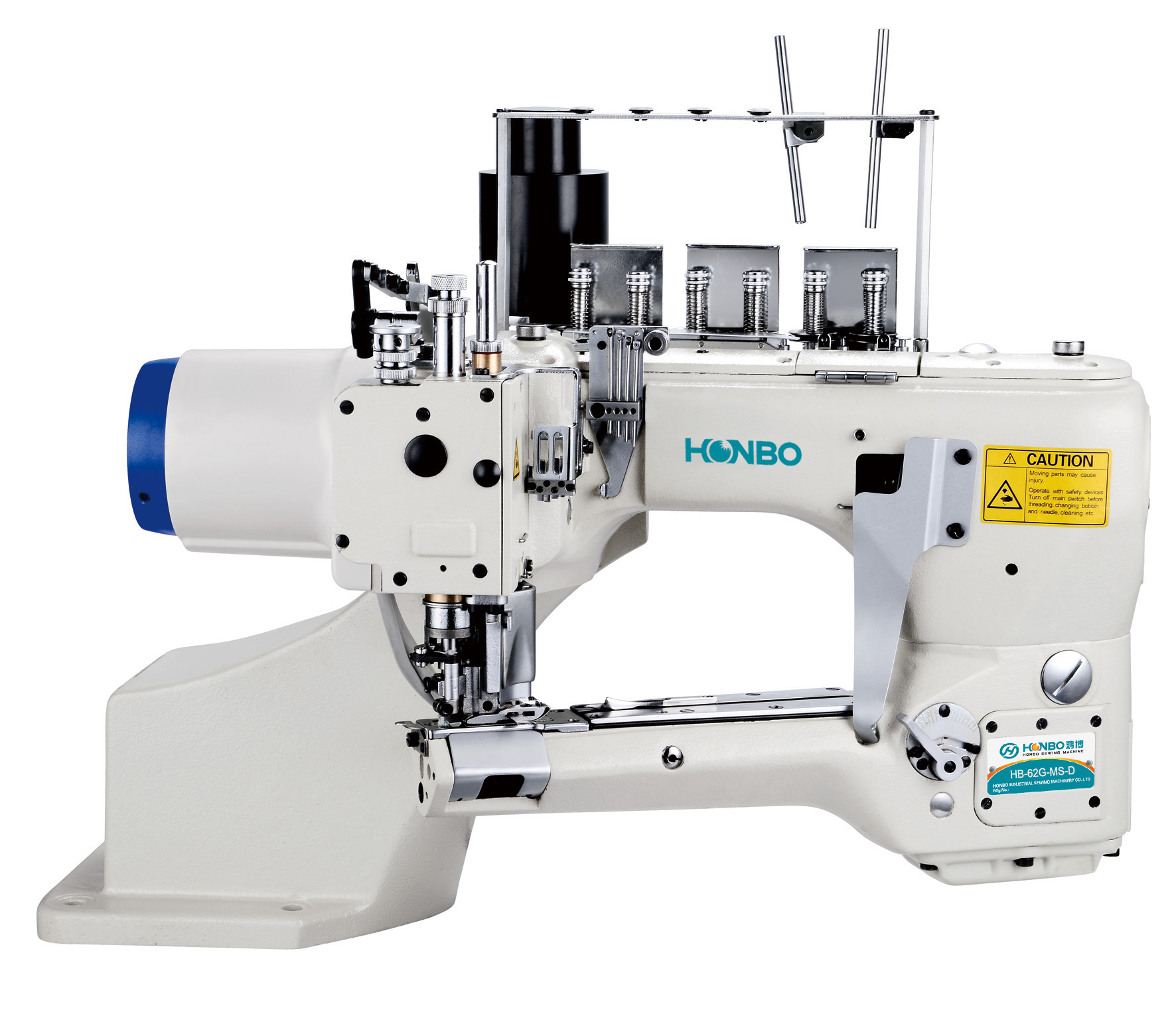 HB-62G-MS-D new style direct-drive feed-off-the-arm 6 thread auto trimmer underwear cylinder bed interlock sewing machine
