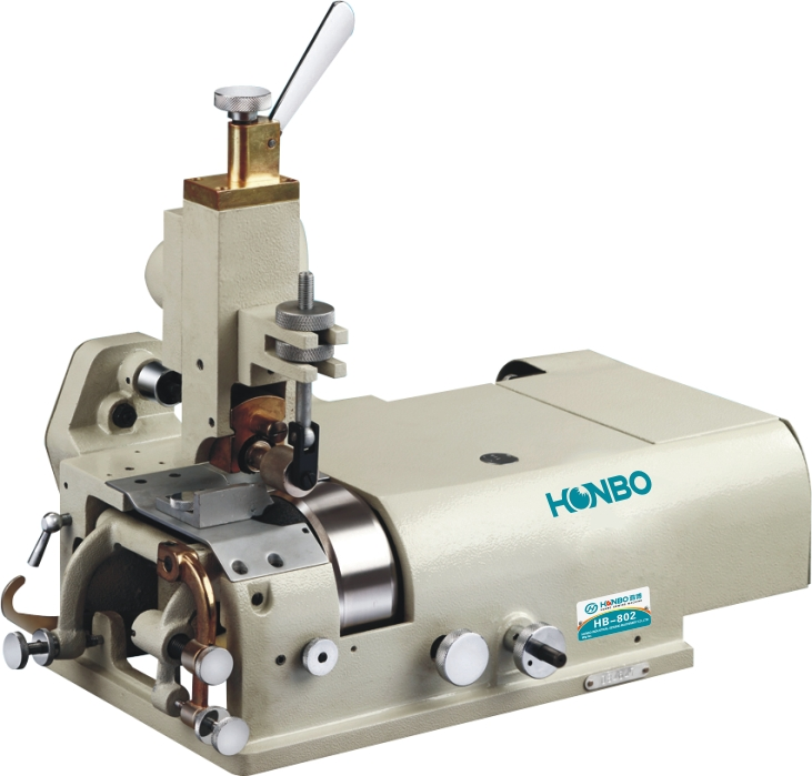 HB-802 industrial insole presser foot adjustable shoe and leather bottom edge folding machine