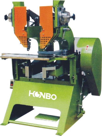 HB-936SH twin riveting machine (fortwin eyelets)